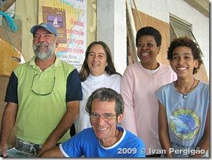Hélio, Mara, Tarcísio, Dando e Pedro