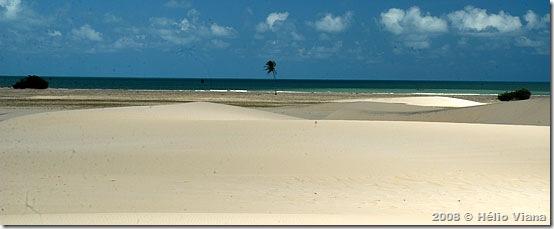 Pense numa praia bonita