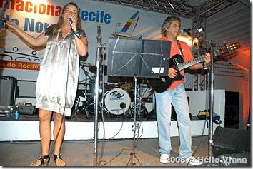 Vitor e Susy na festa da Refeno - Foto © Hélio Viana