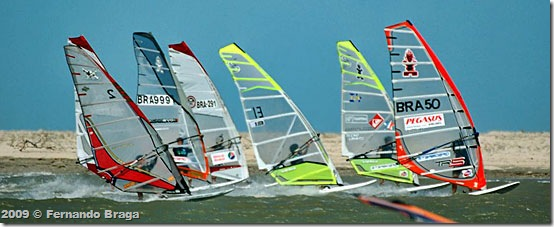 Brasileiro de Wind Slalom em Camocim