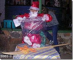 Mamãe Noel na ilha de Itanhangá