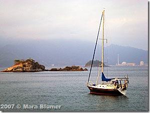 MaraCatu na ilha de Sandri