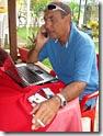 Hugo Nunes no escritório