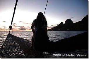 Mara - a 1ª sul americana a ver o sol nascer