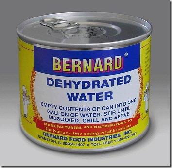 Água desidratada