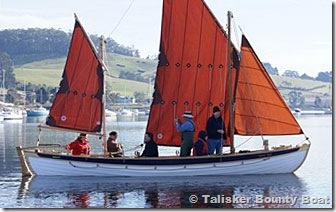 Talisker Bounty Boat