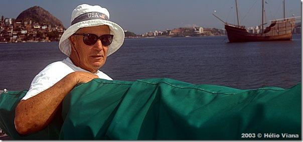 Alex Crowell no Clube Naval Charitas