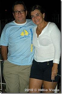 Hugo e Catarina do veleiro Maruja