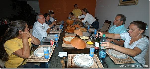 O lauto jantar na casa dos Maruja