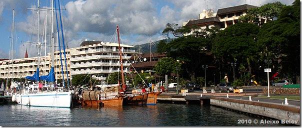 O Fraternidade no Tahiti
