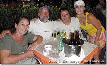 Com Andy e Galdo no Rio de Janeiro
