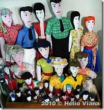 Bonecas de pano de artezã de Santa Cruz