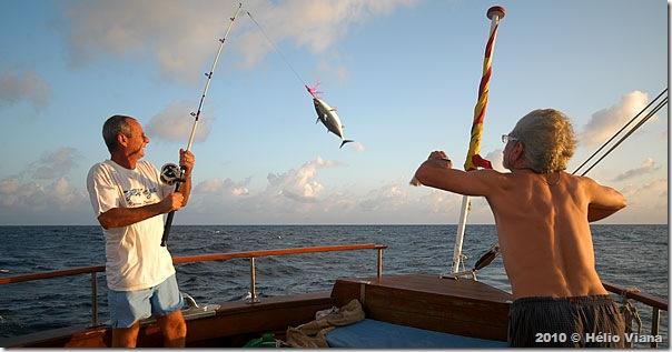 João Gaucho, o grande pescador