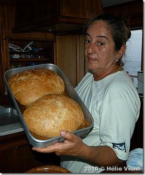 Delícias da Mara: pão salgado