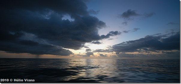 No Atlântico na posição 10º 29´ N - 25º 10´ W