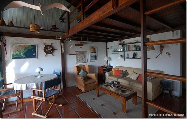 Sala do apartamento dos Blumers