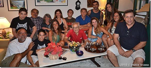 A família Blumer e os agregados