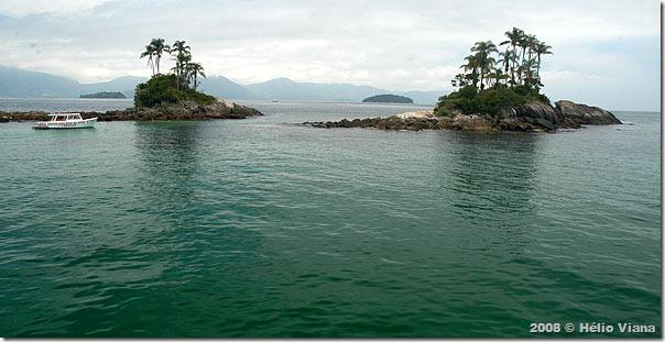 Ilhas Botinas antes do Projeto Nado Livre