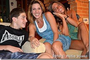 Tia Mônica e os filhos