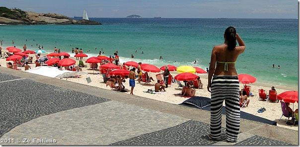Camila em Copacabana