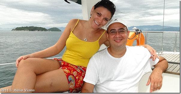 Zé Epifanio e Camila, a Miss Dálmata
