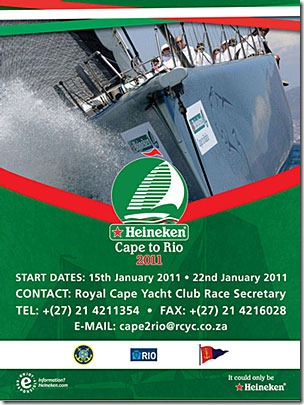 2011 Heineken Cape to Rio Race