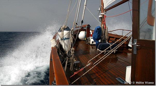 Navegando com vento Nordeste