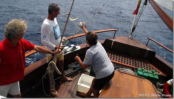Pescaria indo pras Canárias