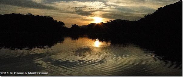 Saco do Céu ao amanhecer