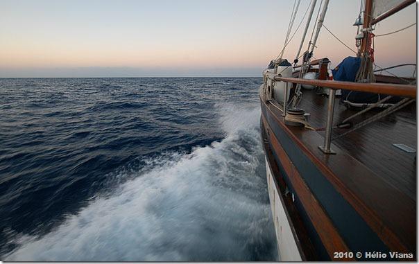 Com alguns dias de mar